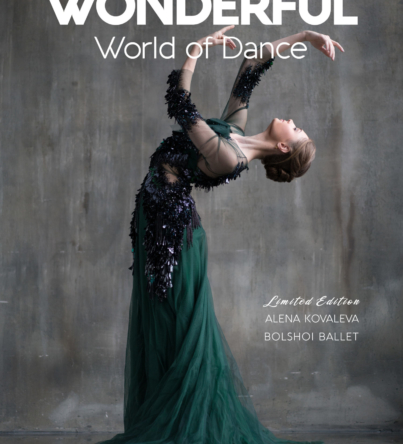Bolshoi ballerina Alena Kovaleva covers The Wonderful World of Dance Act 3